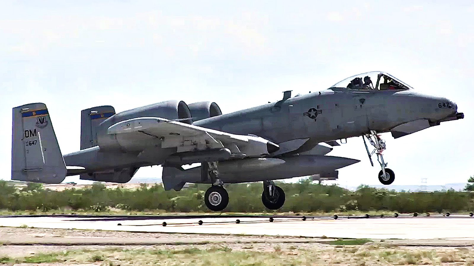 A-10 Aircraft Landings – Return From Deployment