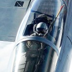 Air Refueling – F-15 Eagles Refuel With KC-135 Stratotanker
