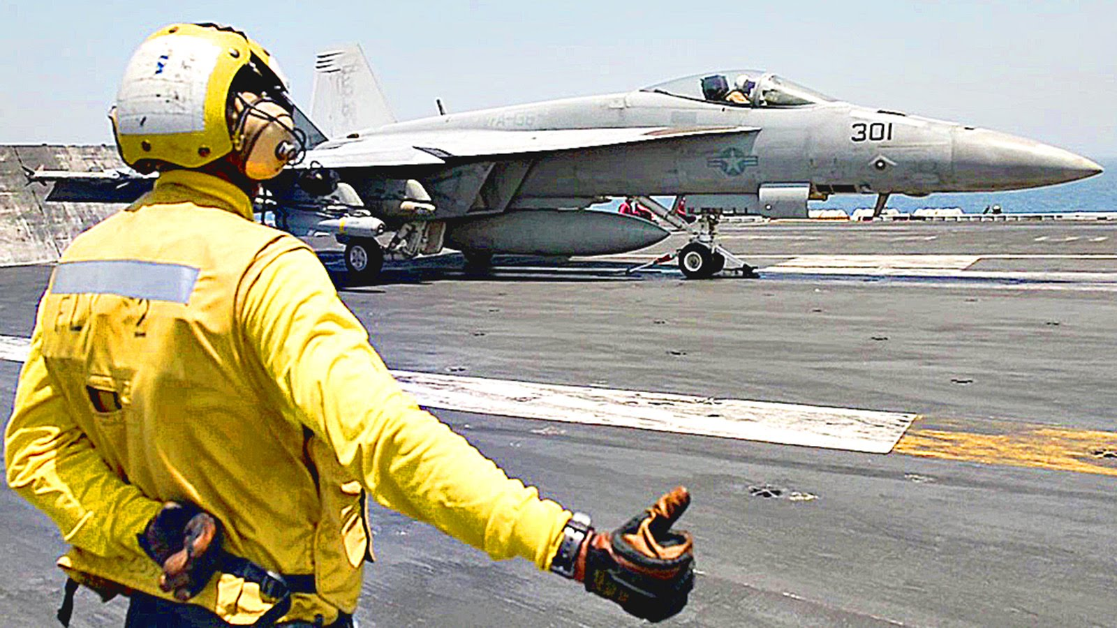 Aircraft Carrier Flight Operations – USS Theodore Roosevelt