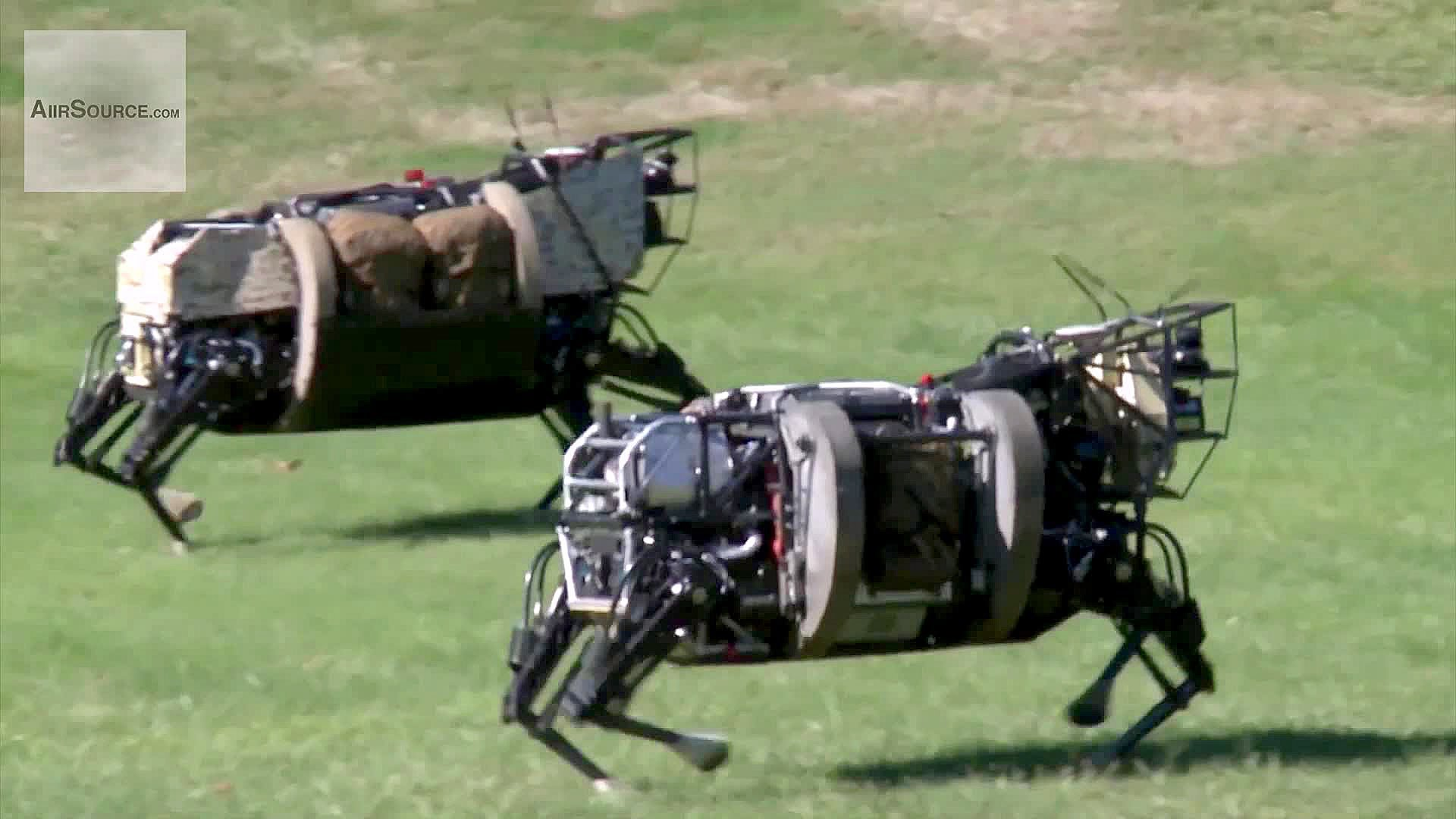 AlphaDog, U.S. Marines Robot Pack Animal – Legged Squad Support System