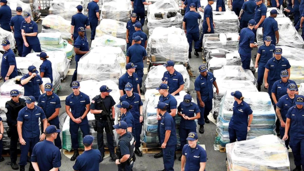 Coast Guard $1 Billion Drugs Offload – Largest in History