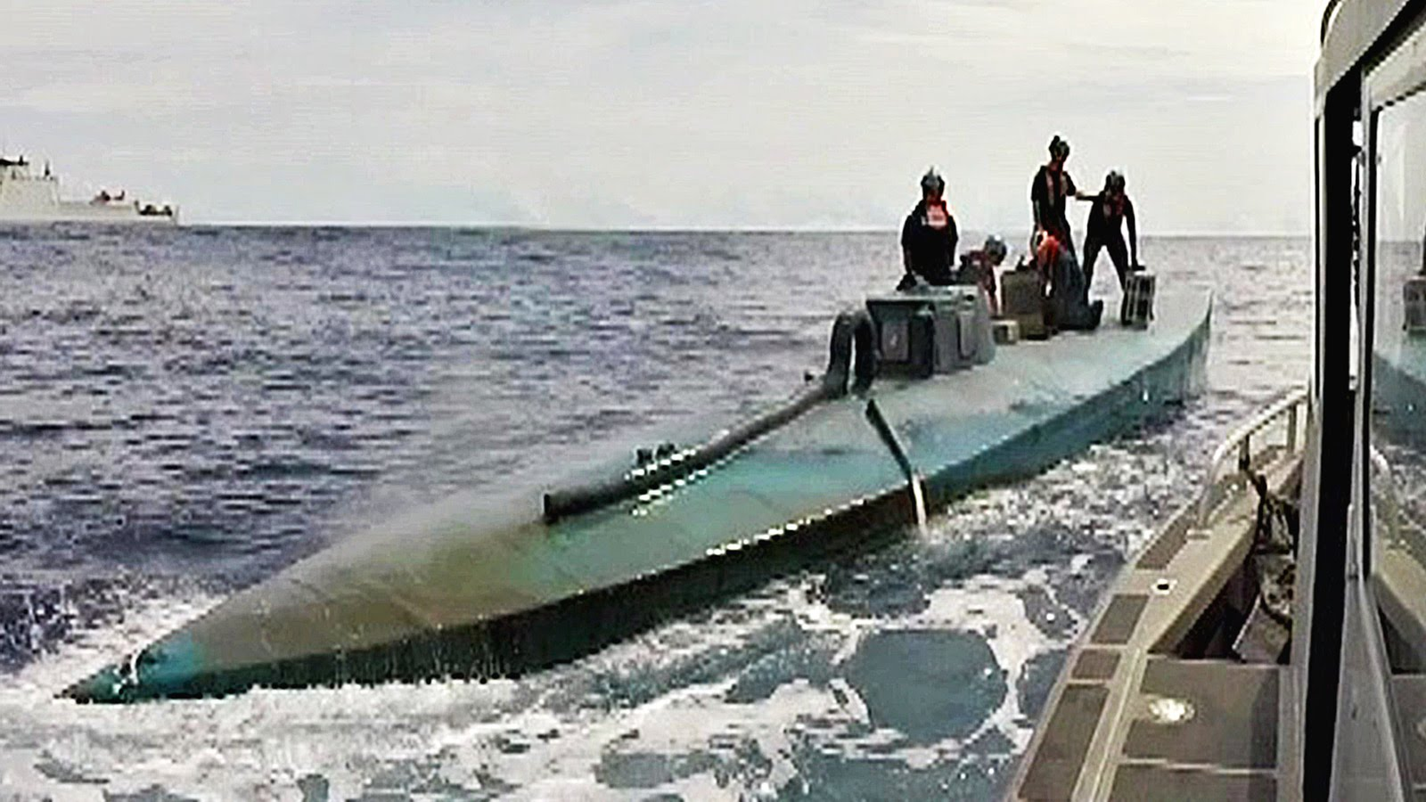 Coast Guard Intercepting Submarine Carrying $181 Million In Drugs