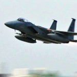E-3, P-3, P-8, C-130, C-17, F-15s and F-22s Take-offs