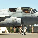 EA-6B Prowler Takes Off In Alaska