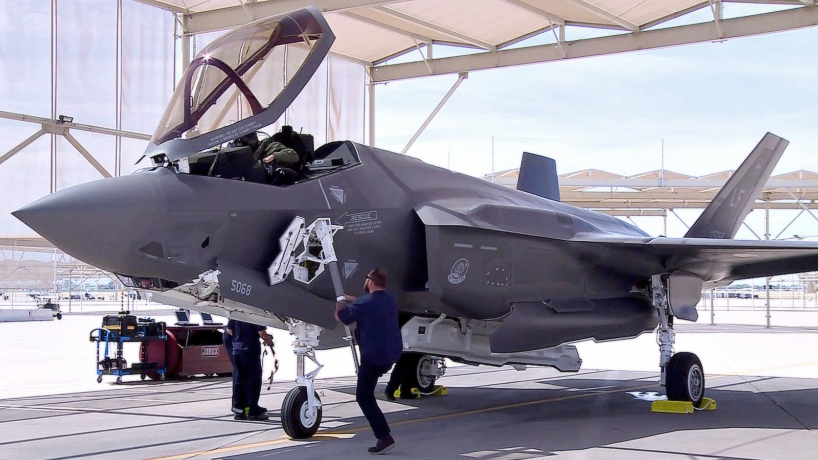 F-35 Squadron Gets Brand Spanking New F-35 Jets