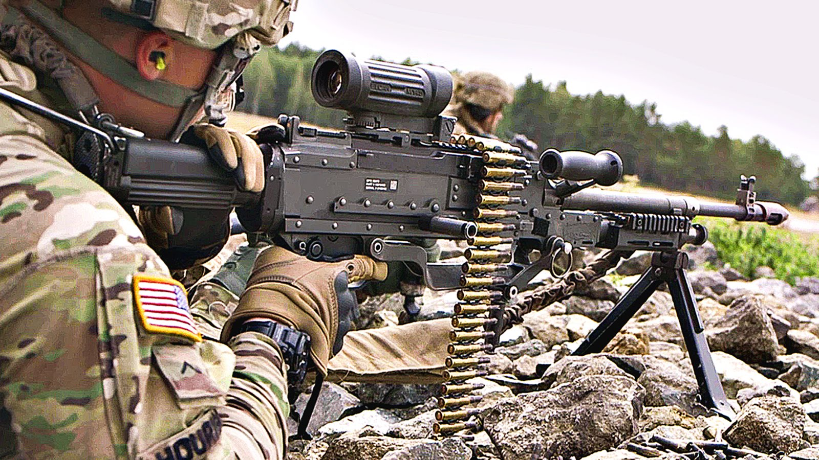 M240L – Monstrously Powerful Machine Gun Live-Fire