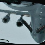 Mid Air Refueling – KC-135 Stratotanker Refueling Mission With C-17