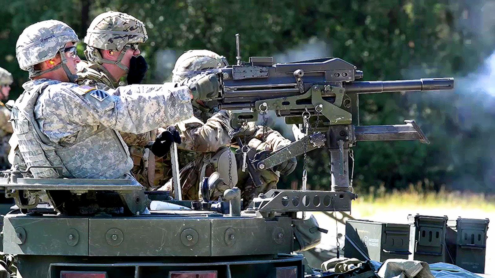 Mk 19 Grenade Launcher Gunnery Exercise  – US Army