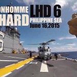 Point of View from Landing Signalman – MH-60S Helicopter Launch