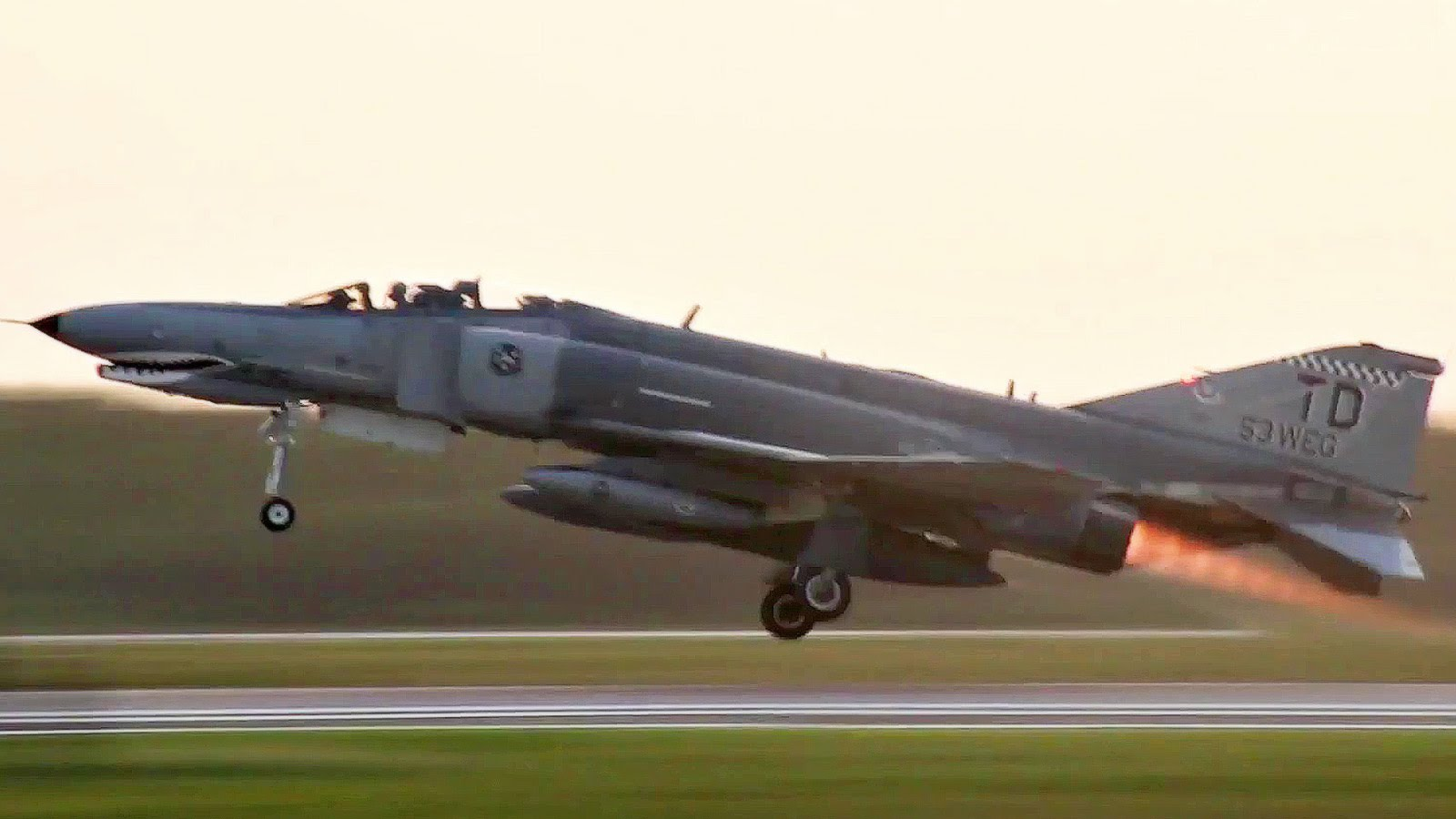 QF-4 Phantom Preflight, Takeoff