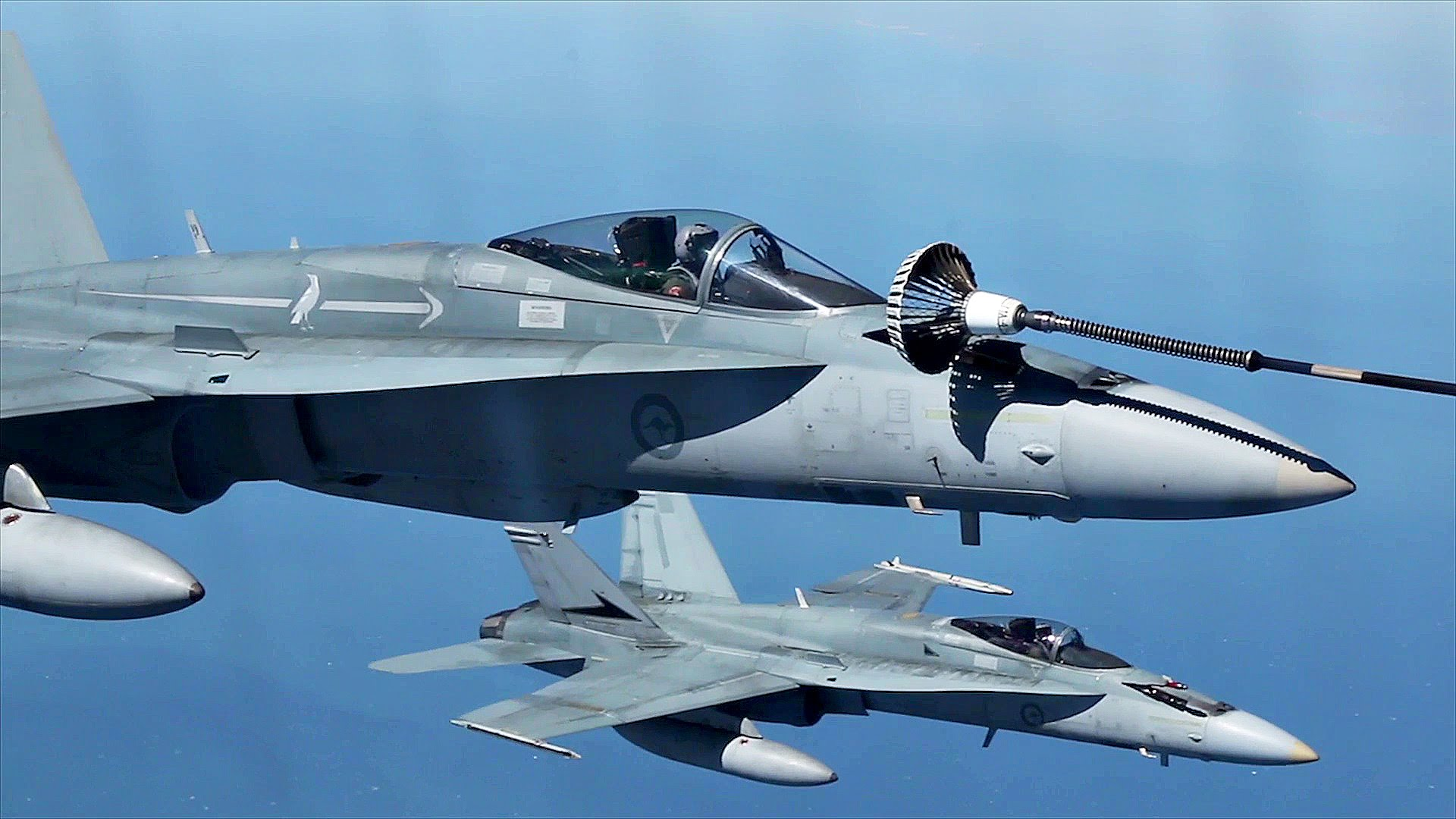 Royal Australian Air Force F/A-18 Mid-air Refueling