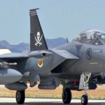 The Best F-15 Fighter Yet: F-15SG Landing At Air Force Base