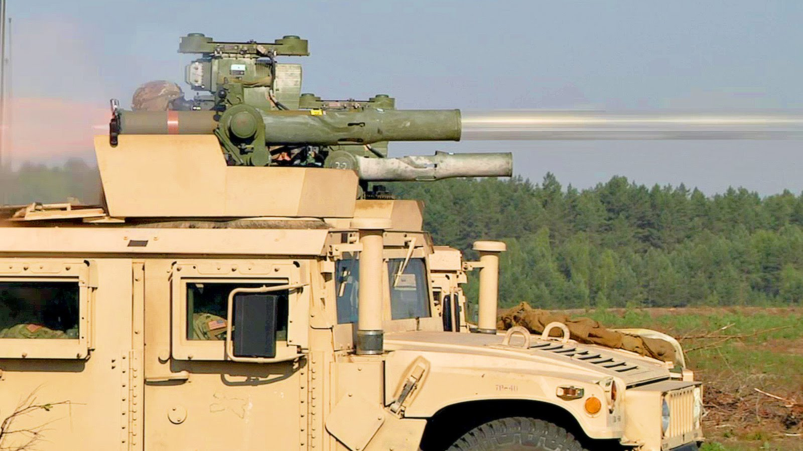 TOW Anti-Tank Missile Live Test