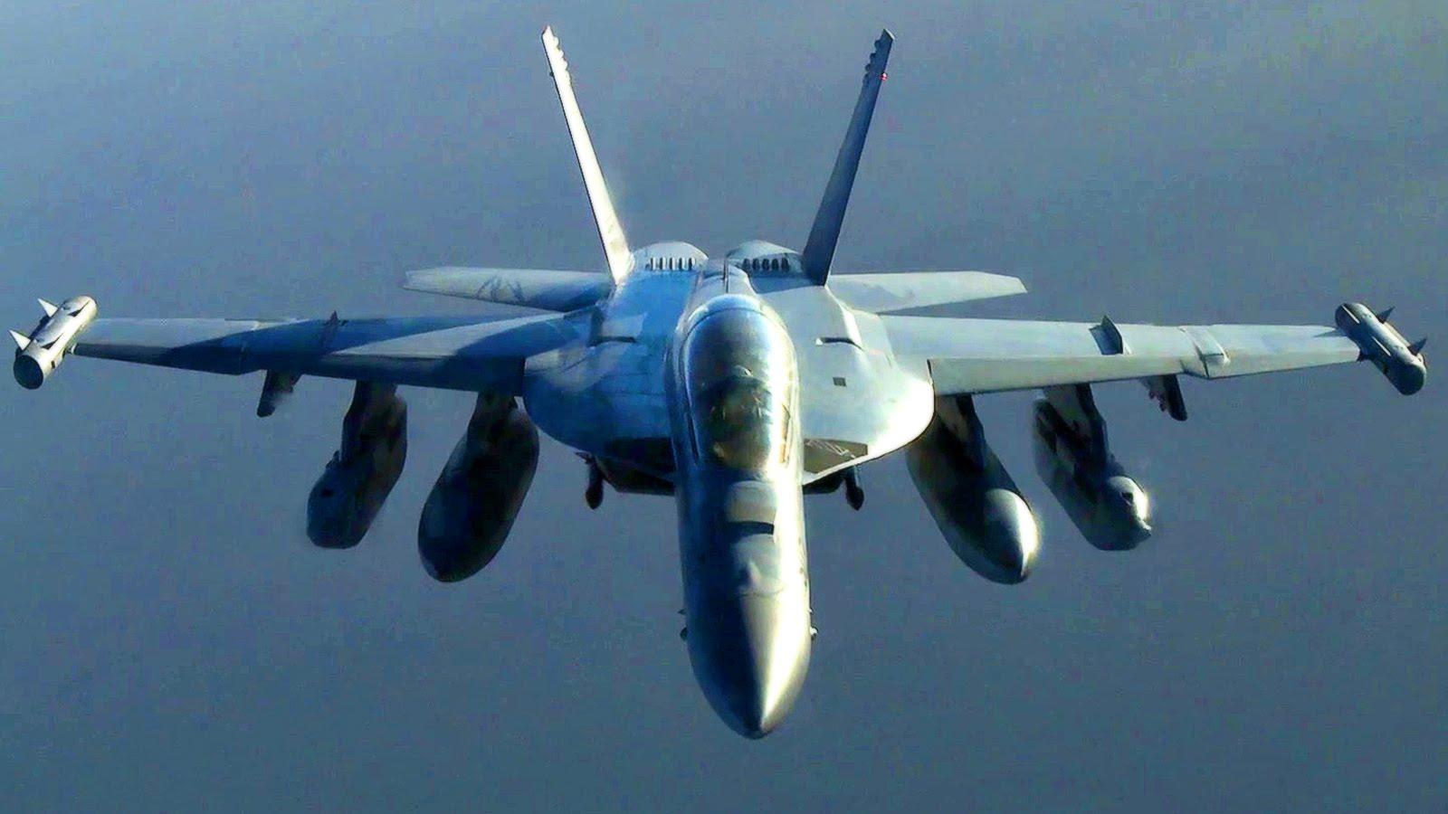 U.S. Navy EA-18G Growler – KC-135 Refueling Mission