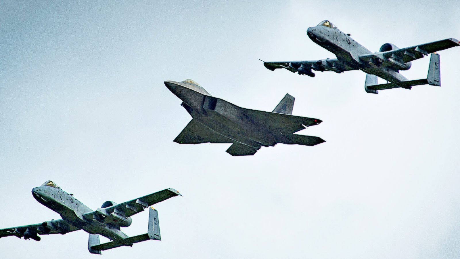 F-22 Raptors & A-10 Warthogs Deploy To Europe