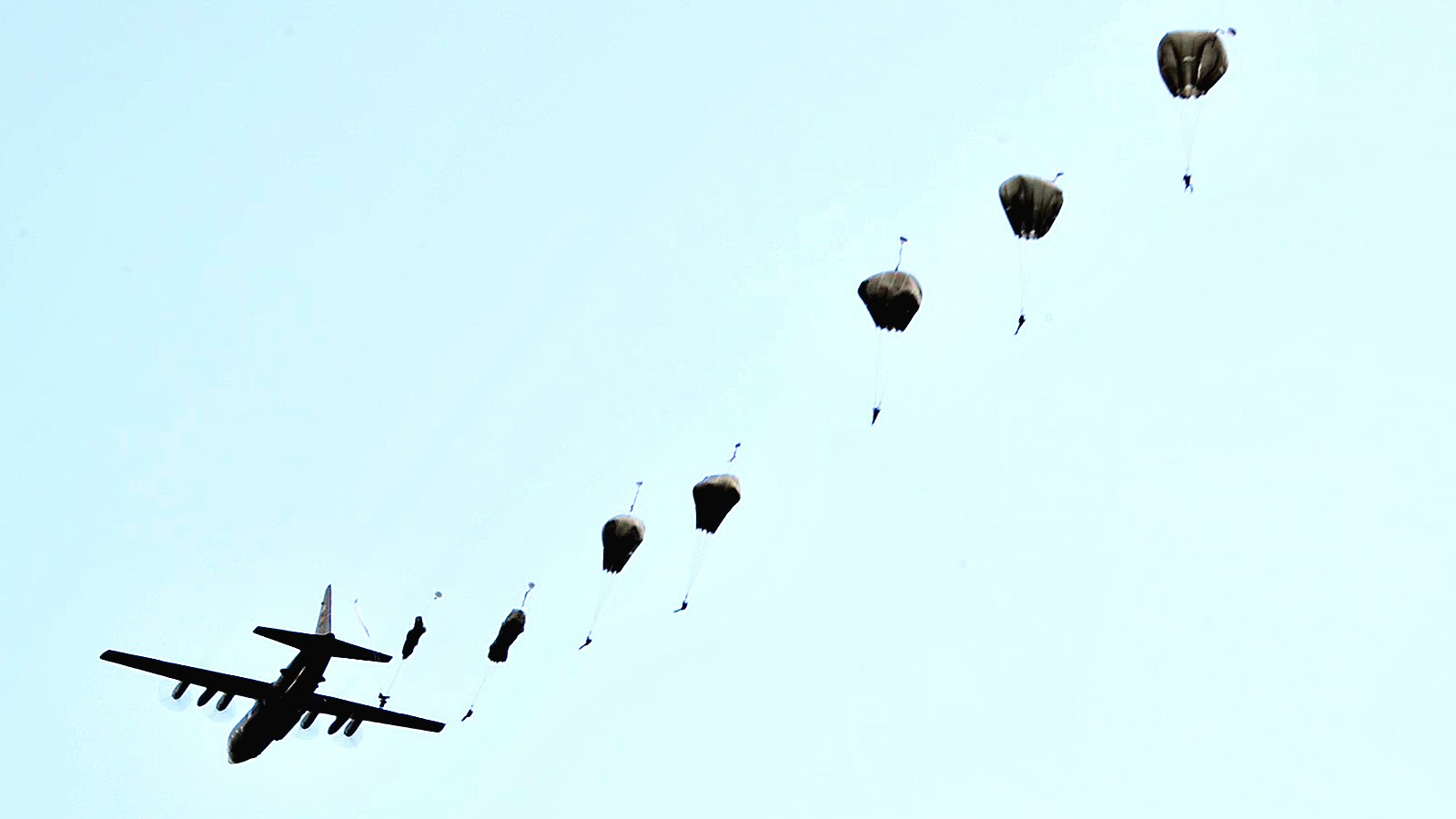 It's Raining Paratroopers! U.S. Special Operations