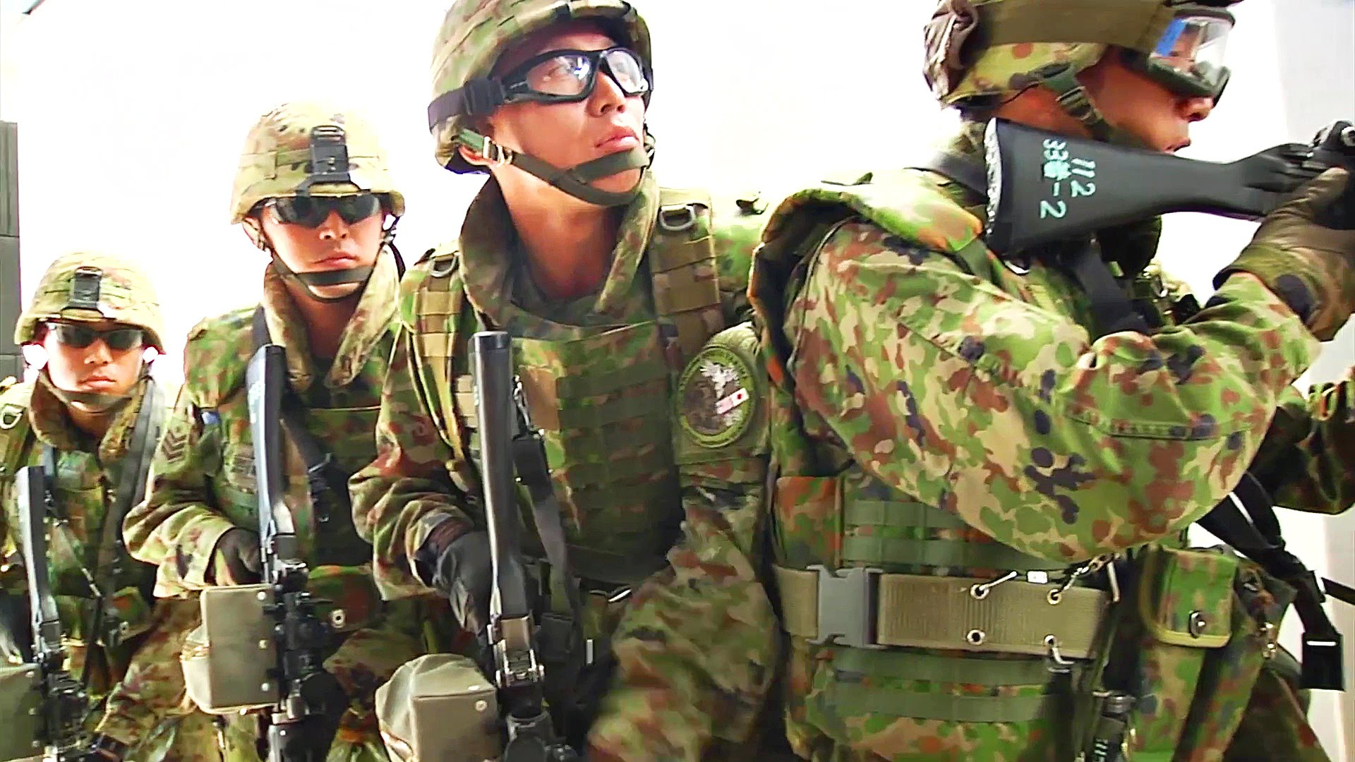 Japan Ground Self-Defense Force – Close Quarters Combat Training