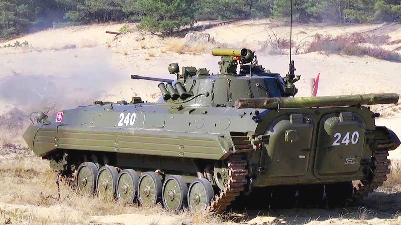 Stryker & Boyevaya Mashina Pekhoty Infantry Fighting Vehicle – Combined Weapons Range