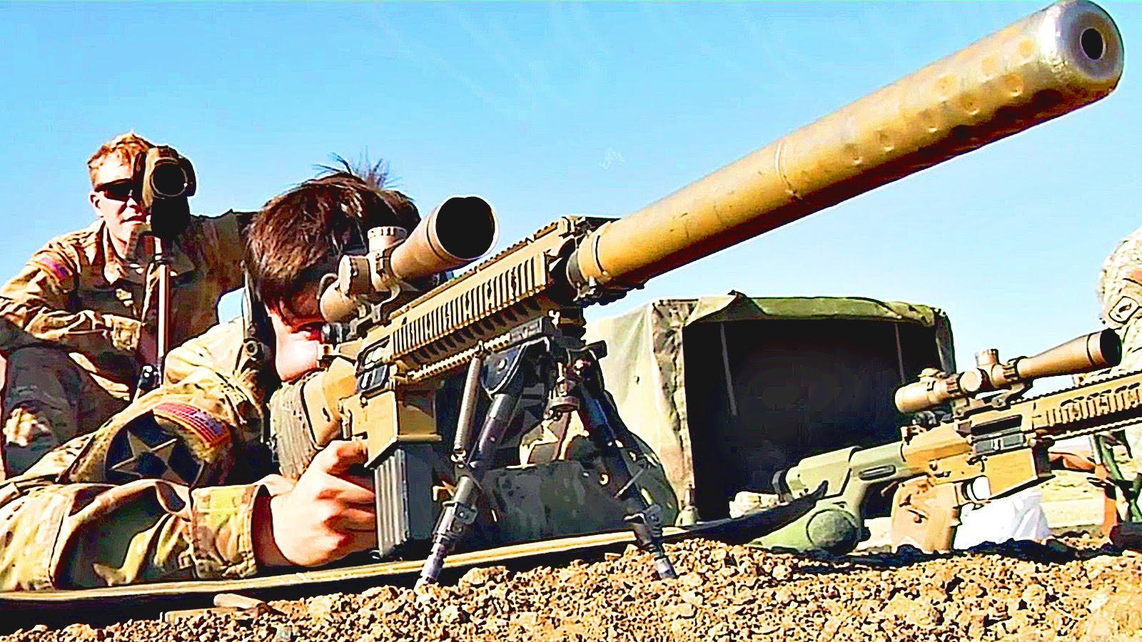 U.S. Army Sniper Rifle Range – M110 SASS