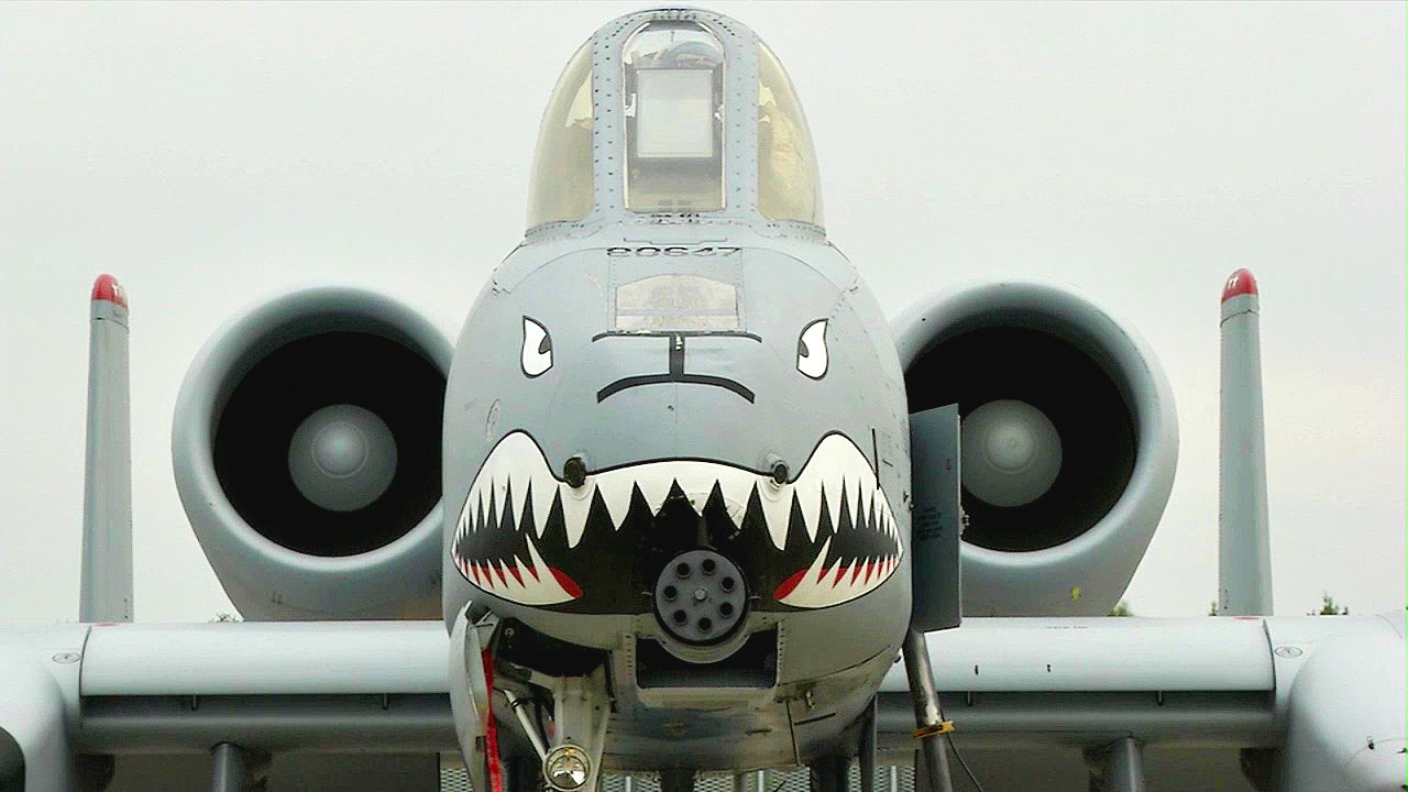 US Air Force A-10 Warthogs Visit Eastern Europe