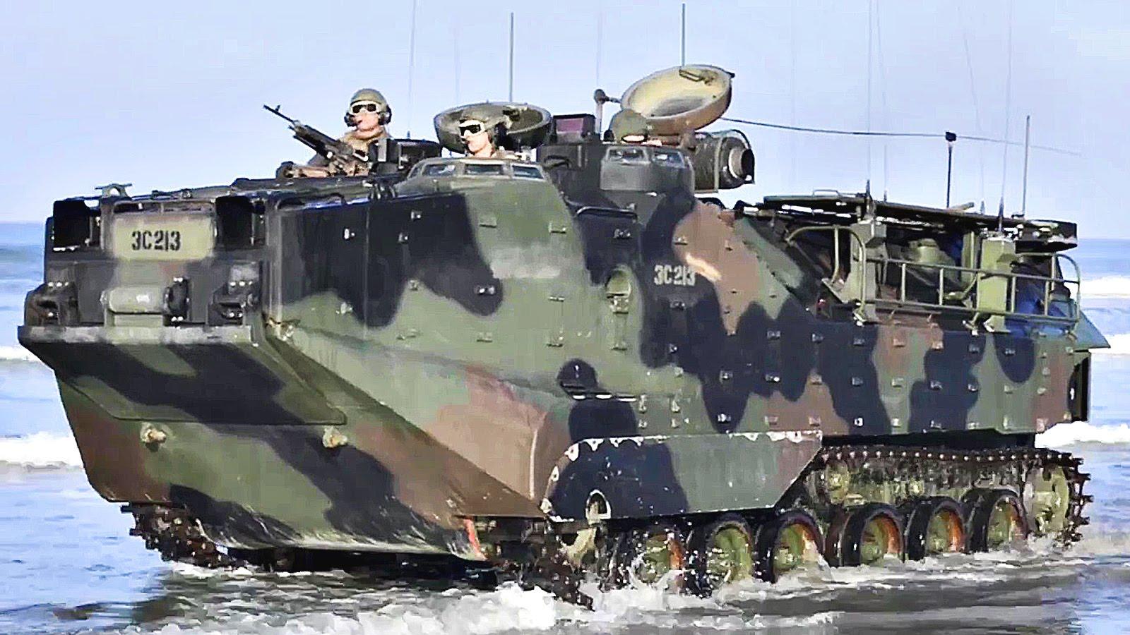 US Marines Conduct Amphibious Landing
