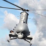 Drone Helicopter MQ-8B Takeoff/Landing from Navy Ship