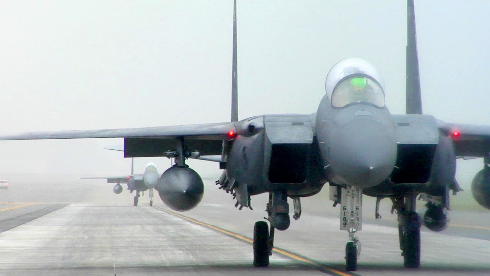 F-15E Strike Eagles Evacuate Ahead of Hurricane Joaquin