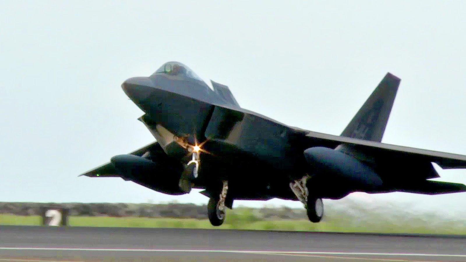 F-22 Raptors Heading to Asia