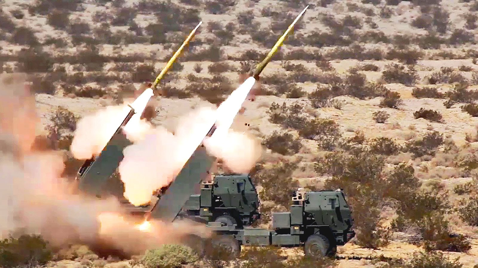 M31 GPS Guided Rockets Live Fire with Pinpoint Accuracy
