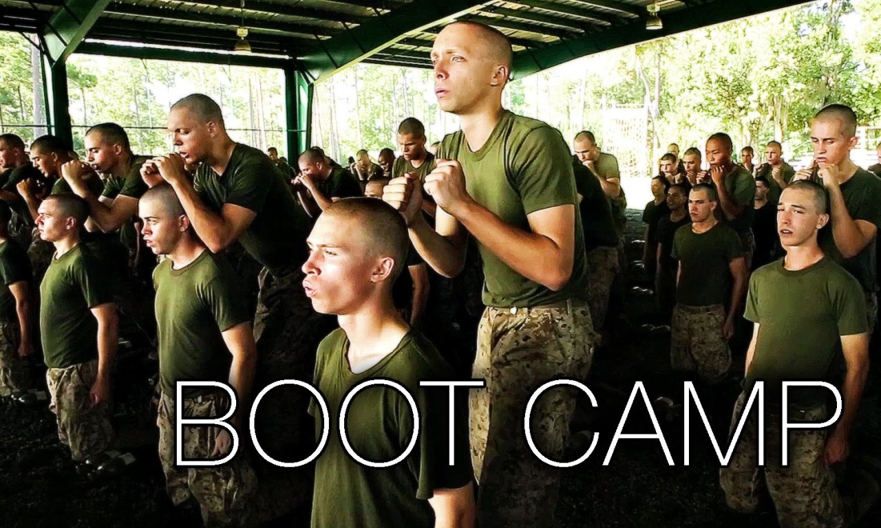 marines bootcamp Here is this week's top shot#motivation #makingmarines #bootcamp #topshot #recruittraining the new marines of delta company, 1st recruit training battalion, prepare to greet their families during liberty call at marine corps recruit depot san diego, may 31.