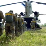 Paratroopers Airborne Operation – CH-47 Chinook Helicopter