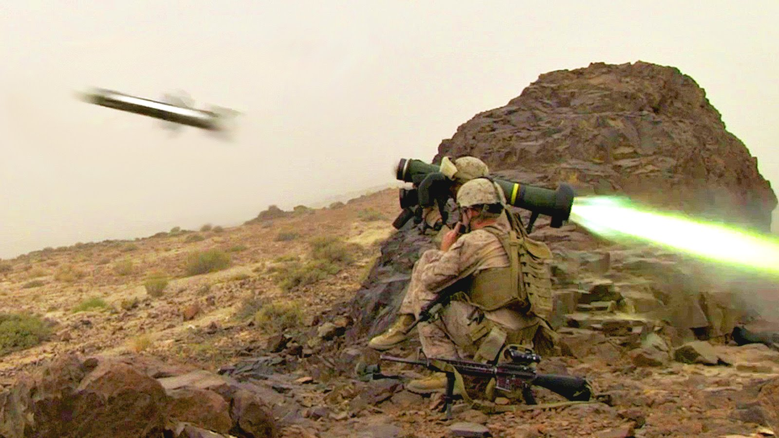 U.S. Marines – Long Range Raid Exercise