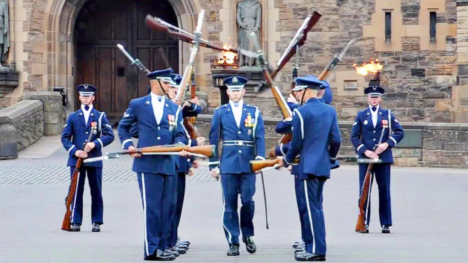 United States Air Force Honor Guard Drill Team