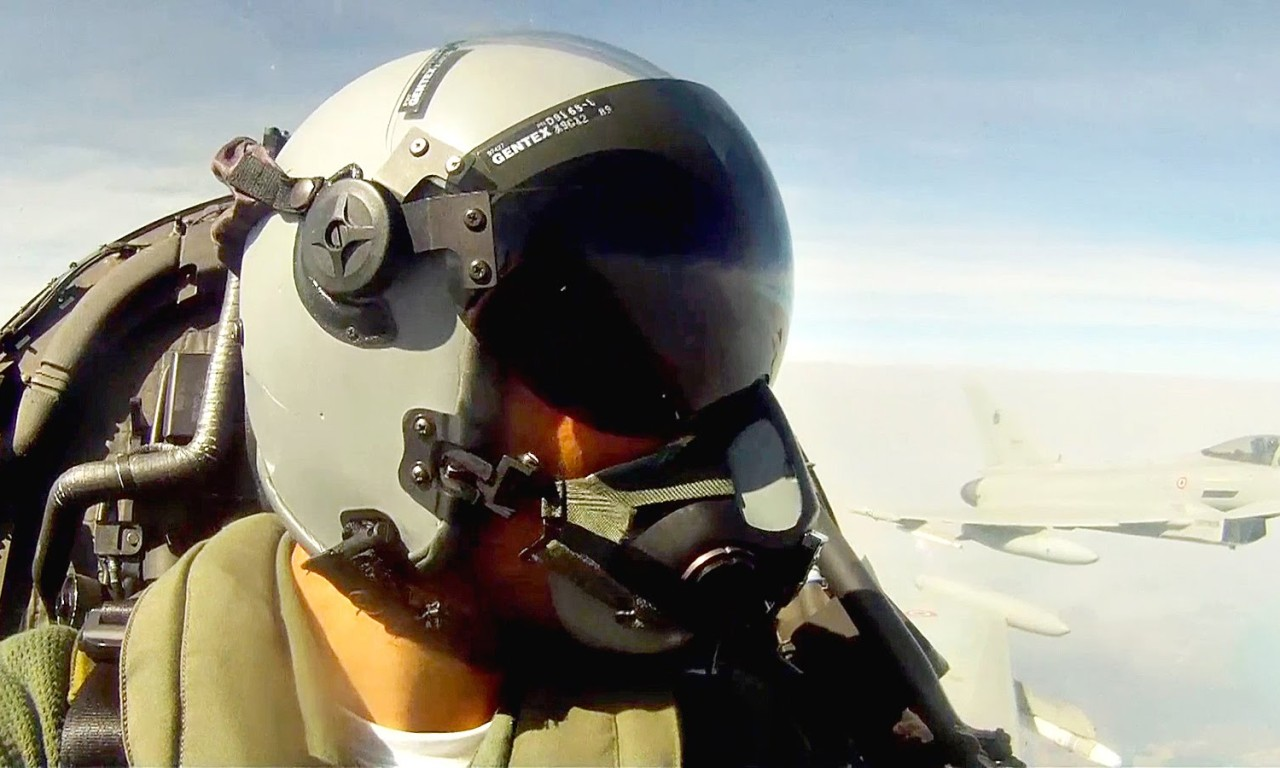 Europe's Most Advanced Fighter: Eurofighter Typhoon Takeoff