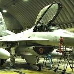 F-16 Launch & Munitions Load At Osan Air Base