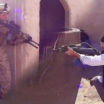 US Marines In Virtual Battlefieled – Infantry Immersion Trainer