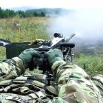 US Paratroopers Engage Targets With Machine Gun, Grenade Launcher, Carbine & Howitzer