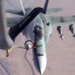 Air Refueling For CF-18 Hornets From KC-135