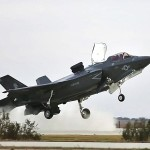 F-35B Vertical Landing & Short Takeoff from Expeditionary Airfield