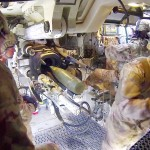 M109A6 Paladin Howitzer at the Range – Interior View