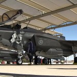 Norwegian Air Force F-35 Aircraft and Student Flight