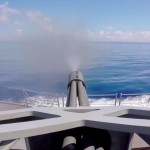 Phalanx CIWS Test Fire