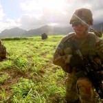 Army 25th Infantry Division Conducting Large-scale Exercise