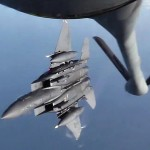 KC-135 Stratotanker in Action – Aircraft Air Refueling