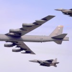 South Korea & U.S. Aircraft Show of Force: B-52, F-16, F-15 Low-Level Flight