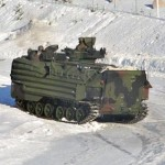 Drifting with Amphibious Assault Vehicles