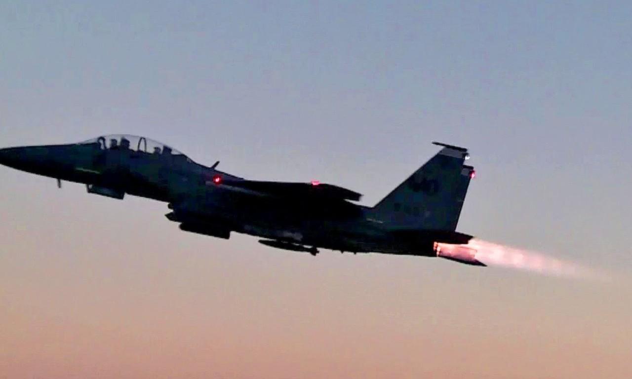 F-15 & F-16 Jets Takeoff & Land at Luke Air Force Base | AIIRSOURCE