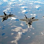 F-22 Fighters Fly Over South Korea in Show of Force
