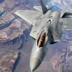 F-22 Raptors Aerial Refuel During Red Flag 16-1