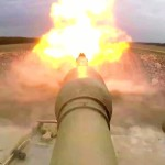 U.S. Marines M1A1 Abrams Main Battle Tank in Action